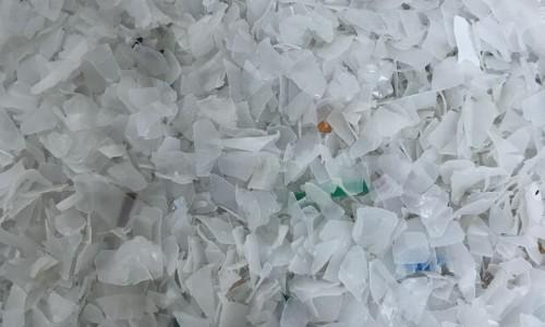 Plastic HDPE BOTTLES REGRIND