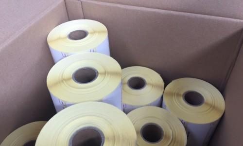 Paper paper waste till rolls