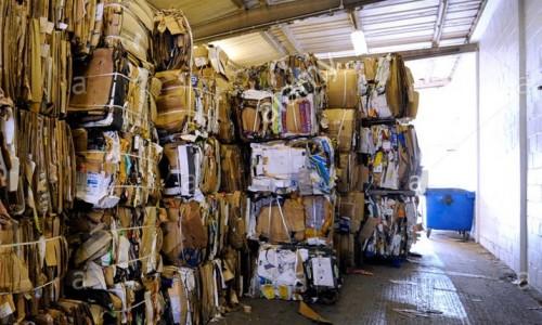 Cardboard waste paper occ