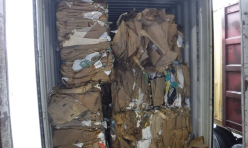 Cardboard Grade 11 OCC 95/5