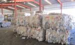 Plastic Baled HDPE Milk Bottles