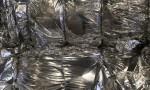 Plastic LDPE post industrial foil