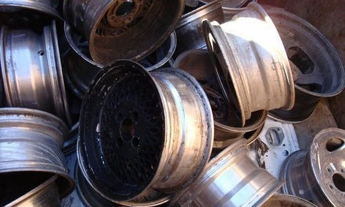 Metal Aluminium Car Alloy Wheels Scrap 99.99%